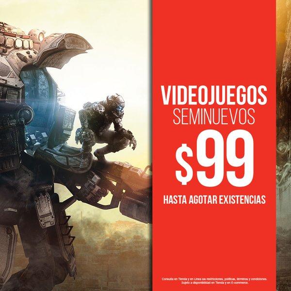 B-Store en línea: Videojuegos Seminuevos a $99