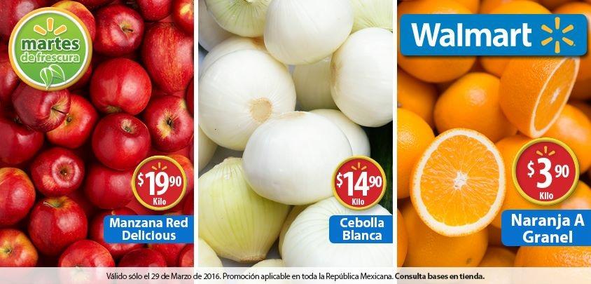 Martes de frescura en Walmart marzo 29: Naranja a $3.90 el kilo y más