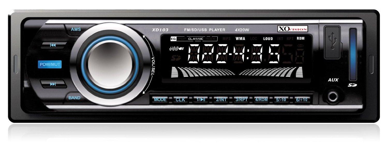 Amazon: Autoestéreo XO Vision MP3 con conexión auxiliar, SD y USB a $351