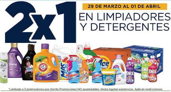 Lowe's: 2x1 en todos los detergentes y limpiadores