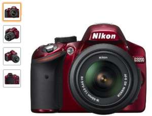 Amazon MX: cámara Nikon D3200 18-55mm color rojo a $6,499