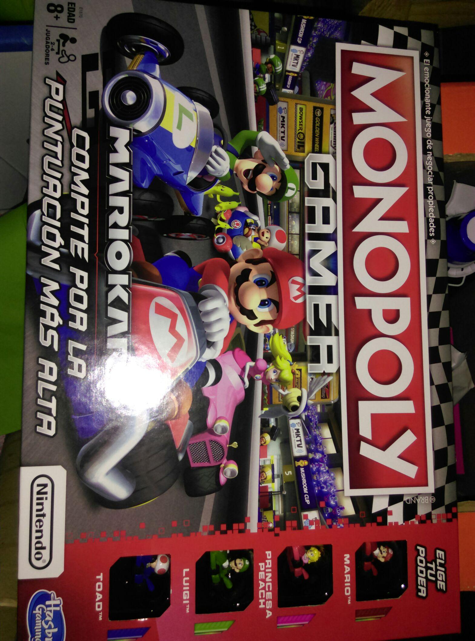 Bodega Aurrerá: Monopoly Gamer Mario Kart