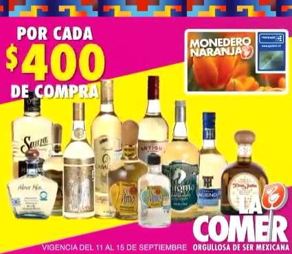 Comercial Mexicana: $100 de bonificación por cada $400 de compra en vinos y licores