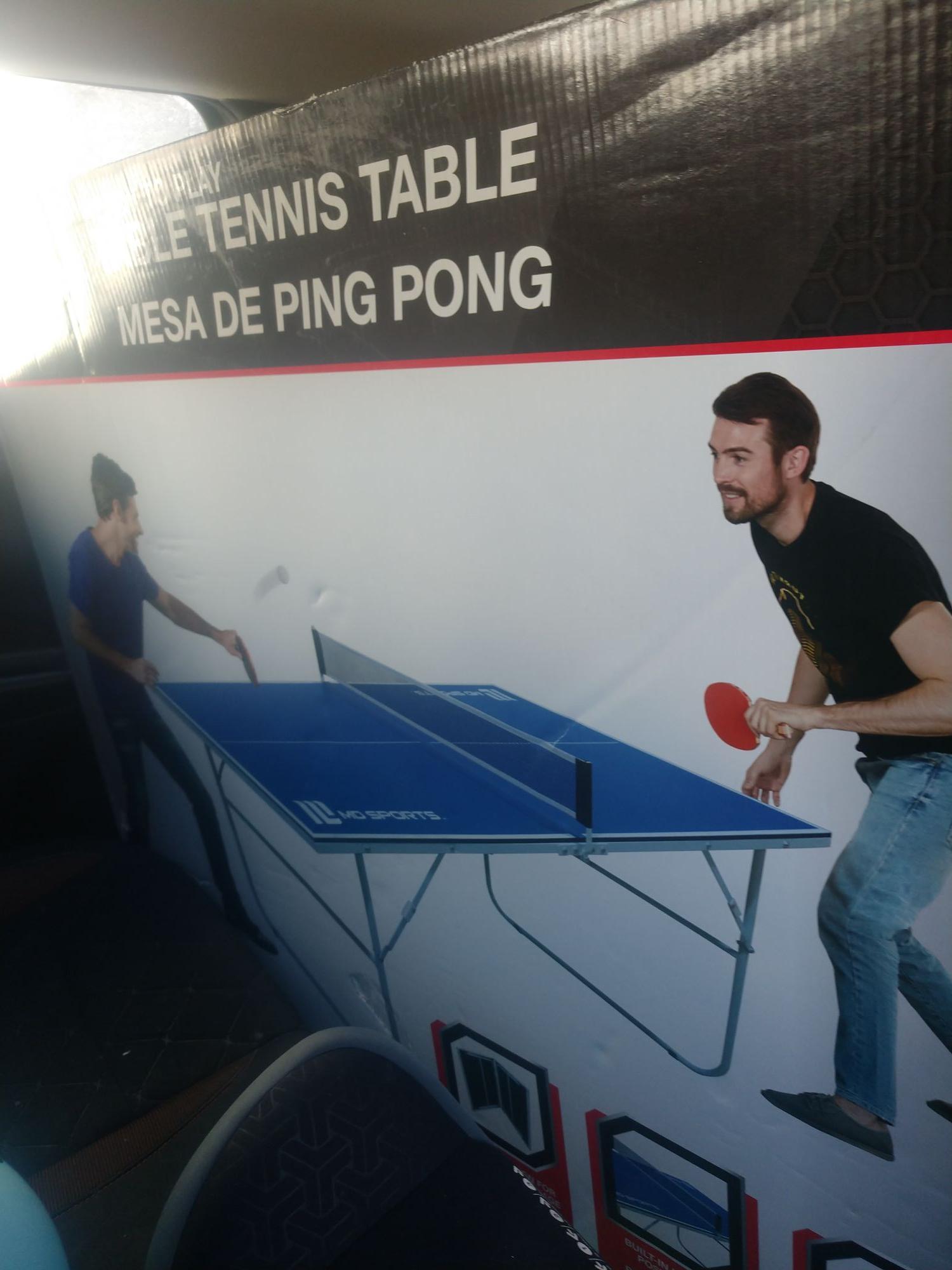 Bodega Aurrerá: mesa ping pong