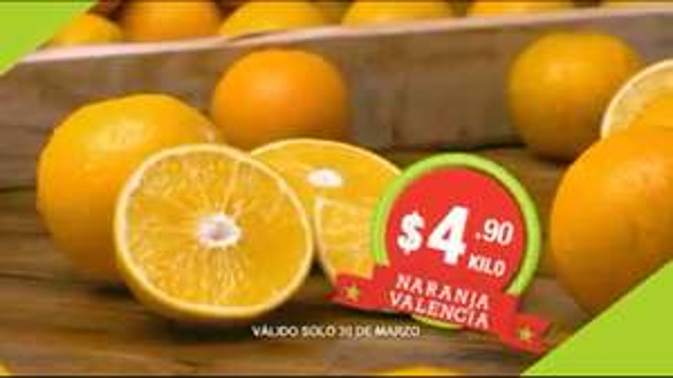 Hoy es Miércoles en Comercial Mexicana marzo 30: Naranja $4.90, cebollita cambray $4.50 y más
