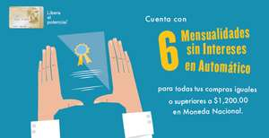 American Express: 6 Meses sin intereses con Gold Elite Credit Card