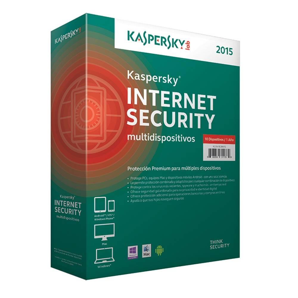 Walmart en Línea: Kaspersky Internet Security Multidispositivos 2015 10 Usuarios a $699