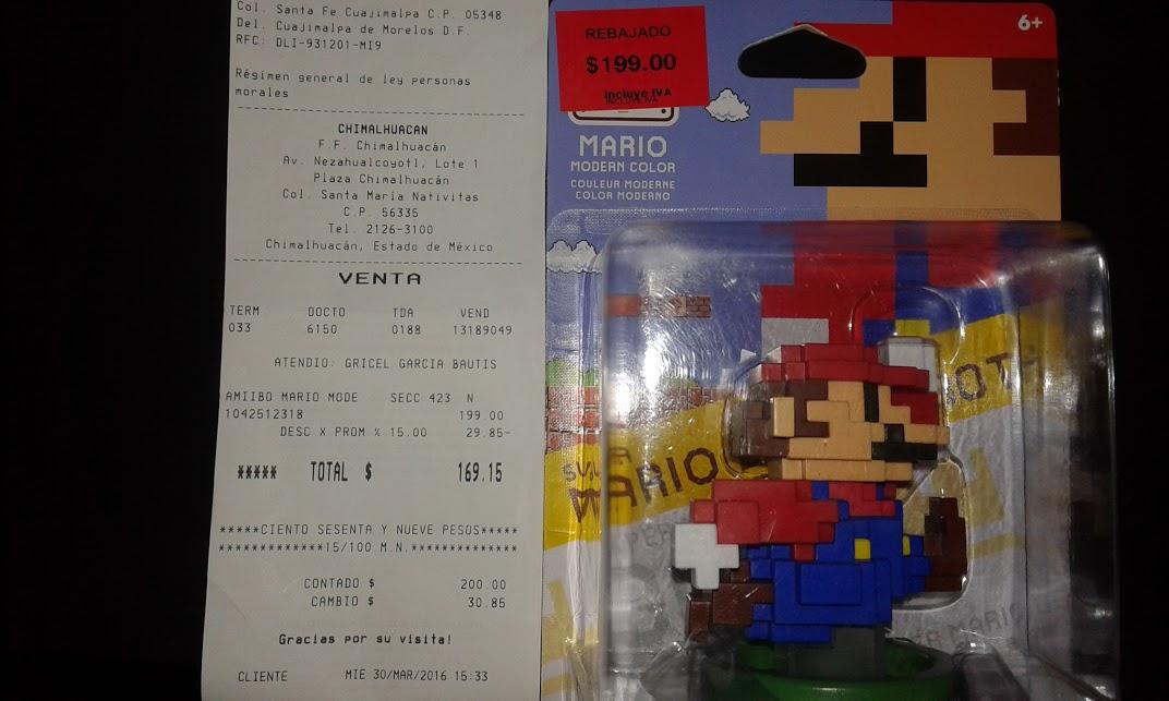 Fabricas de Francia: Mario 30° Modern Color a $169