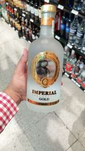 Chedraui: Vodka imperial gold