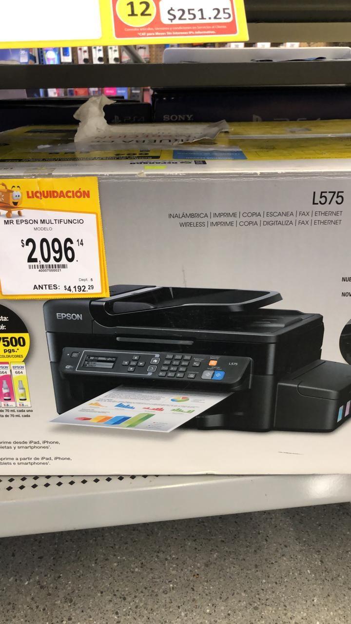 Walmart: Epson multifuncional L575