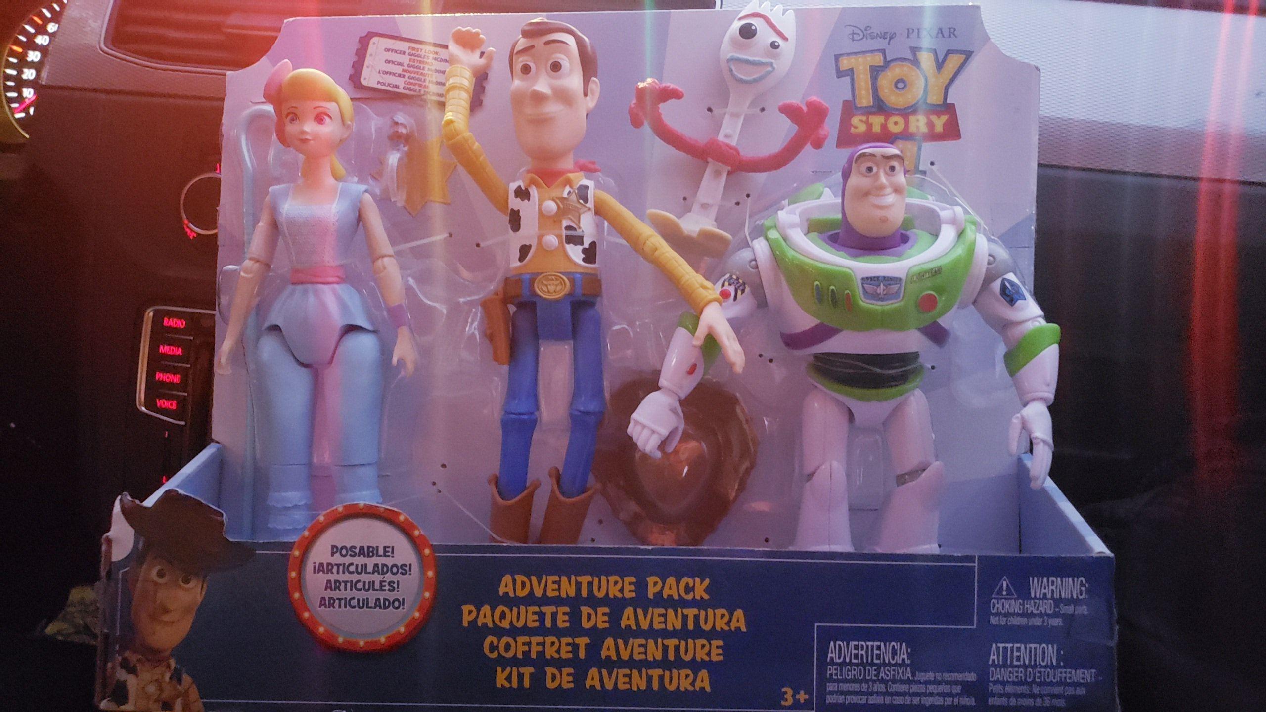 Sam's Club: Figuras articuladas TOY STORY 4, de $899 a $364!!!