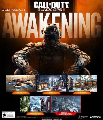 Call of Duty Black Ops III: DLC Awakening Gratis para PS 4 Este fin de semana