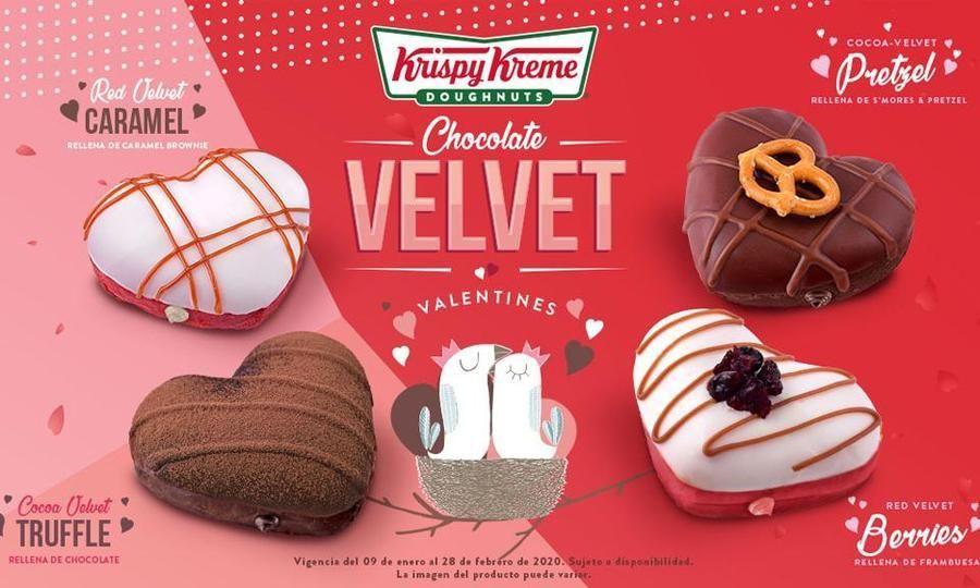 Groupon Media docena donas Krispy Kreme (San Valentín)