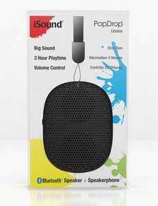 Amazon: iSound Mini Bocina Portátil con Bluetooth con Correa