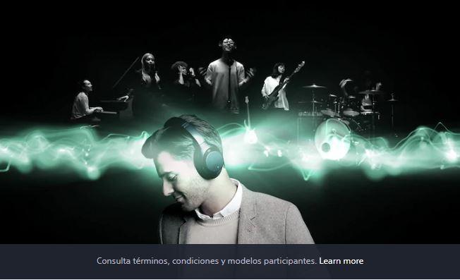 Sony: Obtén 3 meses de streaming (Deezer, Nugs.net o Tidal) GRATIS! al Registrar tus audífonos compatibles con 360 Reality Audio