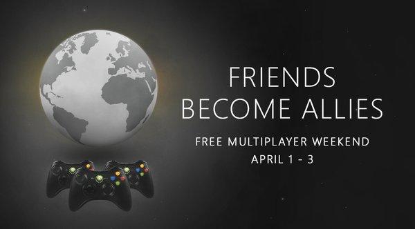 Xbox Live Gold Gratis del 1 al 3 de Abril