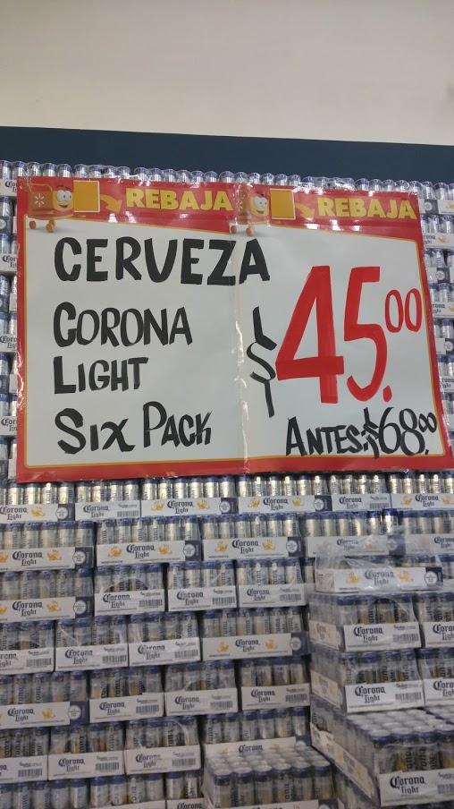 Walmart Tecnológico: Six pack Corona Light a $45 + ofertas