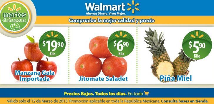 Martes de frescura Walmart marzo 12: piña $5.90 y más