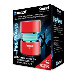 Amazon: i.Sound 5318 altavoces portátiles (1.0, 1.75, Wired & Wireless, USB/3.5 mm, Bluetooth, Red) Color Rojo a $182.81