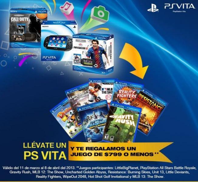 GamePlanet: gratis Dualshock3 comprando PS3 o juego de $799 comprando PS Vita