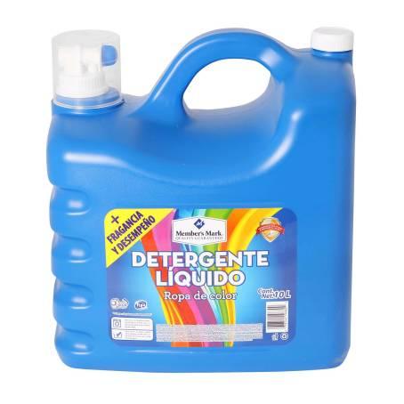 Sam's Club: Detergente Líquido Member's Mark Ropa de Color 10 l