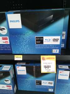 Walmart: reproductor Blu-Ray Philips a $849.03