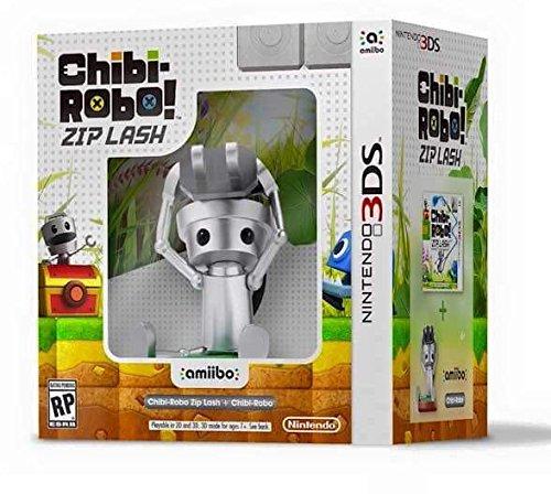 Amazon: Bundle 3DS Chibi Robo Zip Lash Amiibo a $409