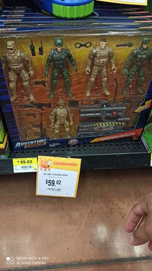 Walmart: Set de figuras Adventure Force