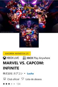 Microsoft Store: Marvel vs Capcom Infinite Xbox One