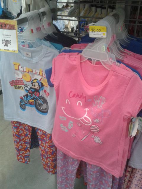 Bodega Aurrerá: Pijamas para niña a $30.02