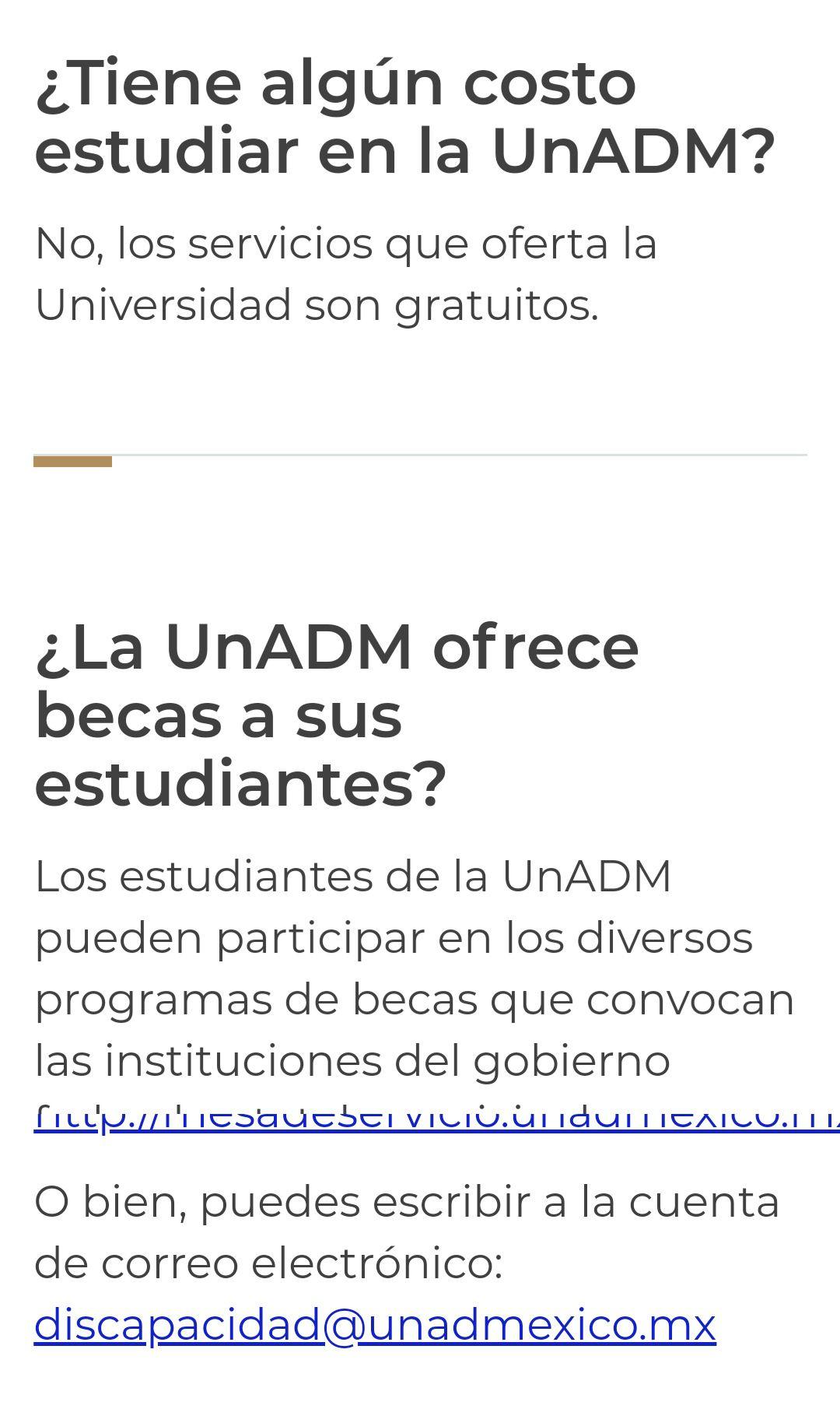 Convocatoria 2020 Universidad Abierta y a Distancia de México: Licenciaturas gratuitas en línea