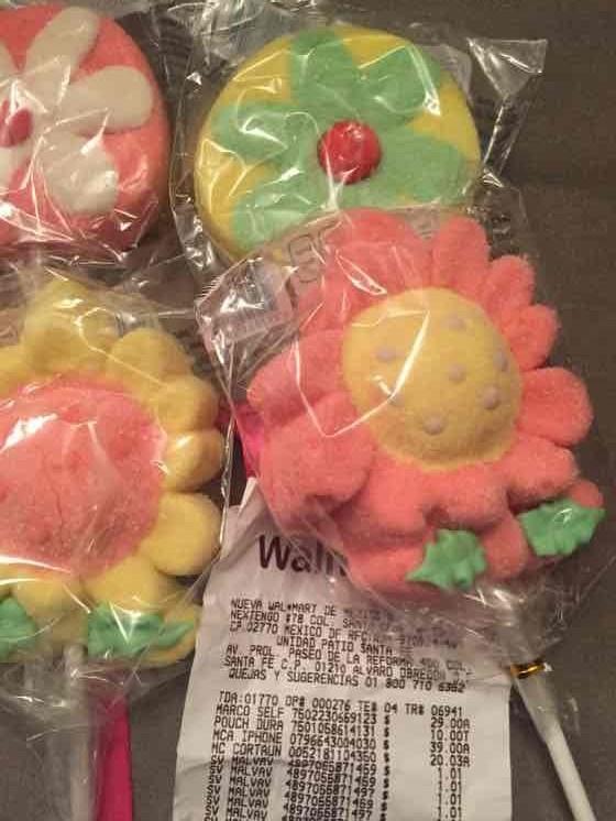 Walmart: Paletas de malvavisco a $1.01