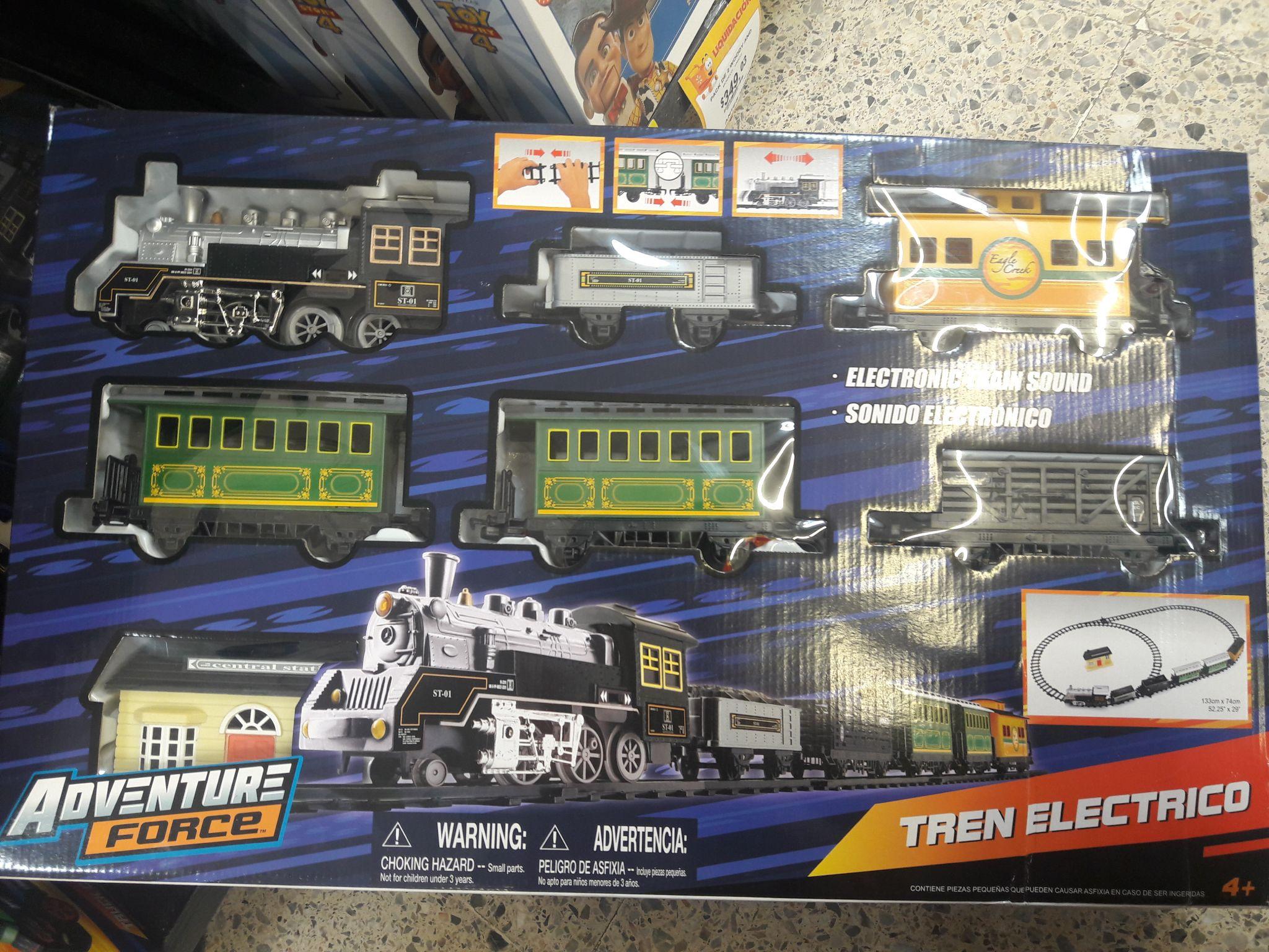 Walmart: Tren eléctrico