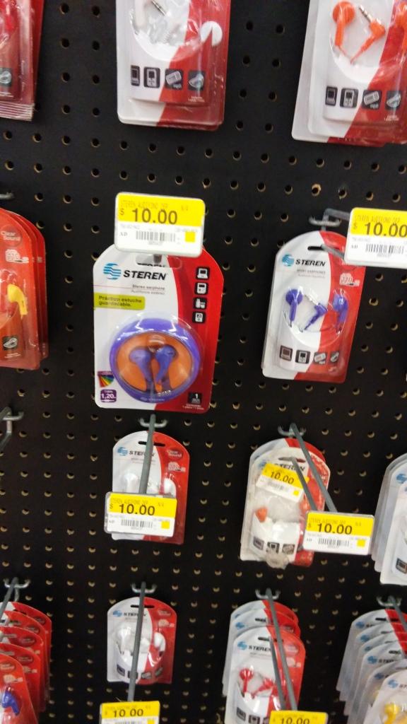 Walmart: audífonos Steren a $10.00