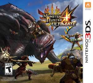 Amazon: Monster Hunter 4 Ultimate para 3DS a $363.13