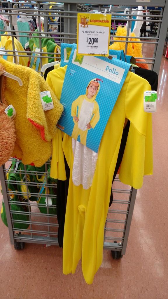 Walmart: Disfraces de Pollo, tortuga, León a solo $20