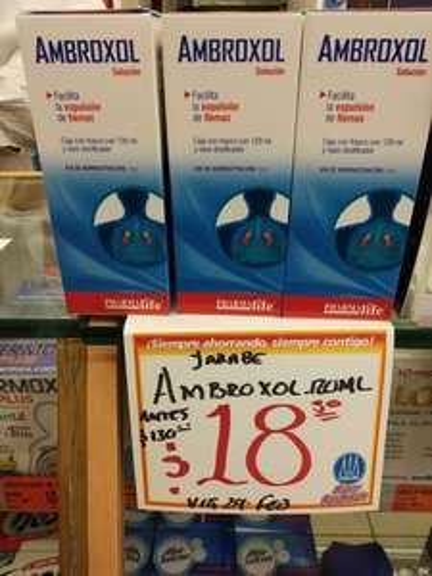 Farmacias Guadalajara Ambroxol