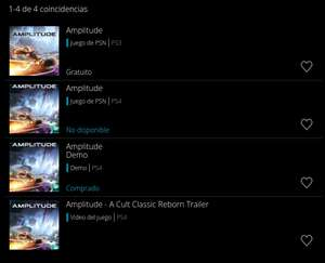 PlayStation Store: Amplitude para PS3 gratis agregando el demo de PS4