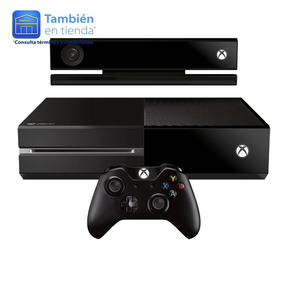 Walmart: Xbox One 500 GB + Kinect Refurbished a  $5,249 + $600 de bonificacion con Banamex