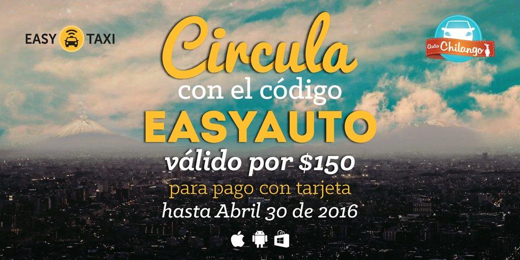 Easy Taxi: cupón de $150 para tu primer viaje