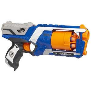 Amazon: ofertas en juguetes, pistola Nerf Elite Firestrike a $169, Playmation Hulk desde $54