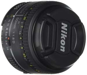 Amazon: Lente Nikon AF-S DX NIKKOR 50 mm f/1.8D a $1,799