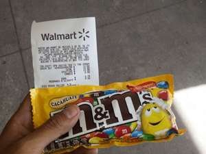 Walmart: M&Ms Cacahuate 92.7g a $10.02