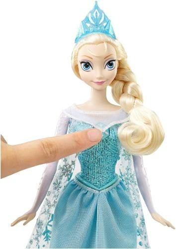 Palacio de Hierro: La Elsa de Disney Frozen Canciones Mágicas (Canta); sudadera de la Elsa en $119 y más