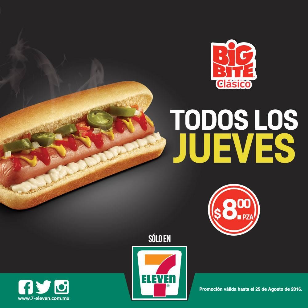 7-Eleven: Big Bite Clásico a $8 todos los jueves