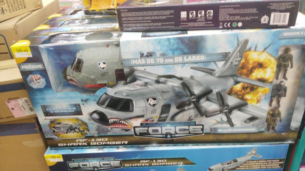 Bodega Aurrerá: juguete Adventure Force a $345.03