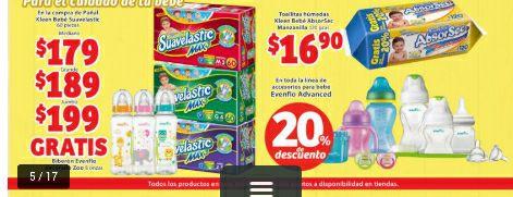 Soriana Mercado: pañales Suavelastic 60pz a $179