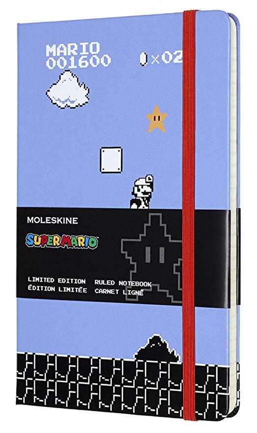 Amazon: Libreta Super Mario Moleskine (tamaño bolsillo)