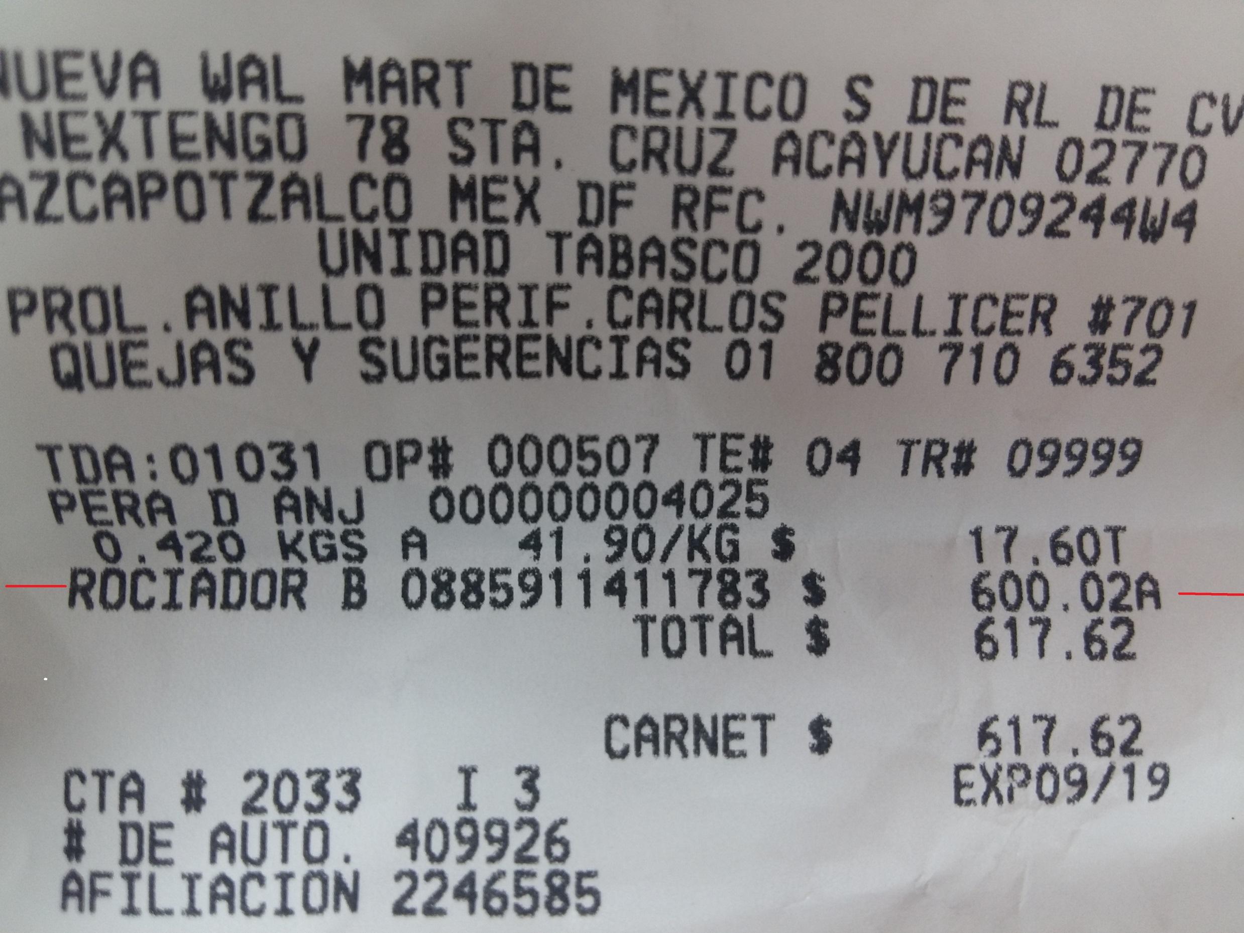 Walmart Carrizal: pistola para pintar Black + Decker a $600.02