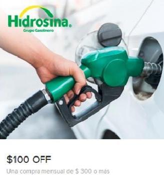 Mercadopago QR: Nuevamente disponible $100 o $50 de descuento en hidrosina con mínimo de $300( usuarios seleccionados)